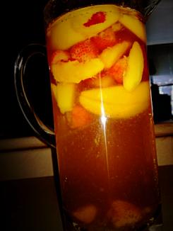 Strawberry-Peach-Sangria
