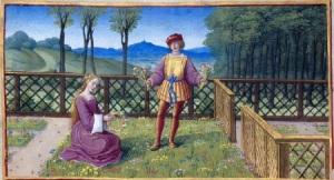 love in garden