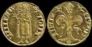 The Florin--one of the few standard currencies in Europe by 1300.