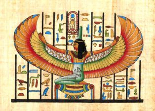 winged isis image