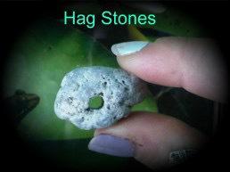 Natural Hag Stone