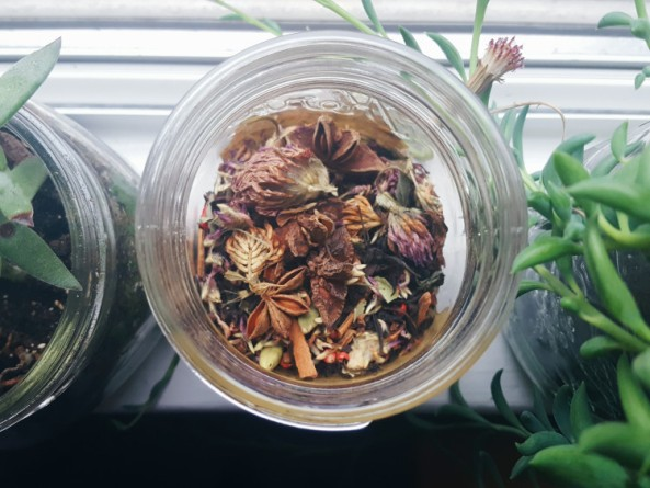 Waxing Moon Tea Blend Recipe | The Witch of Lupine Hollow