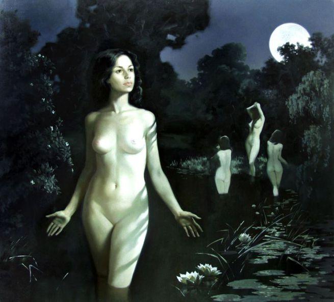 The Walpurgis Night Alexandra Nedzvetskaya