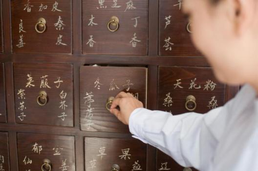 Chinese medicine draws
