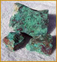 Chrysocolla Pieces