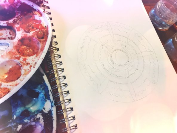 Create your own Moondala Mandala | Spirit de la Lune
