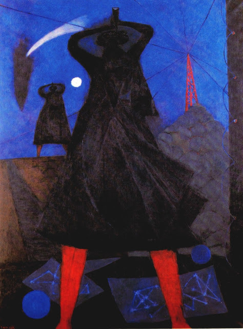 Rufino Tamayo (1899 –1991)...The Astrologers of Life, oil on canvas 1947